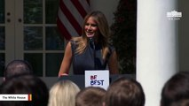 Melania Trump Says She's 'Deeply Concerned' About Growing E-Cigarette Use In Children