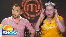 ¡Clarita, Pastor y Cynthia se toquetearon todo el cuerpecito en MasterChef La Revancha!|Todo Un Show