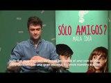 Daniel Radcliffe nos dice qué es el amor para él (Entrevista por 'Sólo amigos?')