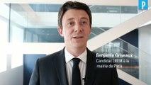 Cantine, voiture et logement... 3 promesses de Benjamin Griveaux pour Paris