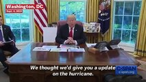 Trump Shows Map Of Hurricane Dorian With Sharpie Added, Defends Alabama Path