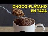 Choco-plátano en taza | #Chilantojos