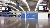 L'aéroport d'Heathrow désert à Londres à cause de la grève de British Airways
