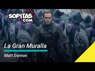 La Gran Muralla la última película de Matt Damon | Sopitas.com