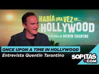 Quentin Taranto sobre Once Upon a Time in Hollywood, 25 años de Pulp Fiction  y su retiro