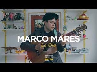 Marco Mares en la Sesiones Acústicas de Sopitas
