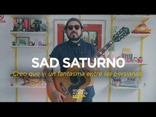 Sad Saturno en la Sesión Acústica de Sopitas
