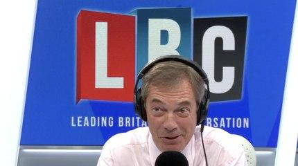 Nigel Farage's Instant Reaction To John Bercow's Resignation