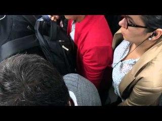 El acoso sexual en el transporte público