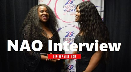 HHV Exclusive: NAO talks being a British singer, bringing her music to the US, and more | Essence Fest 2019