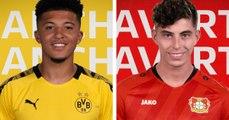Bundesliga: Young rockets on the rise, Jadon Sancho and Kai Havertz
