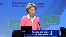 Ursula von der Leyen announces new European Commissioners
