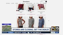 Stores are closing -- where are the deals?