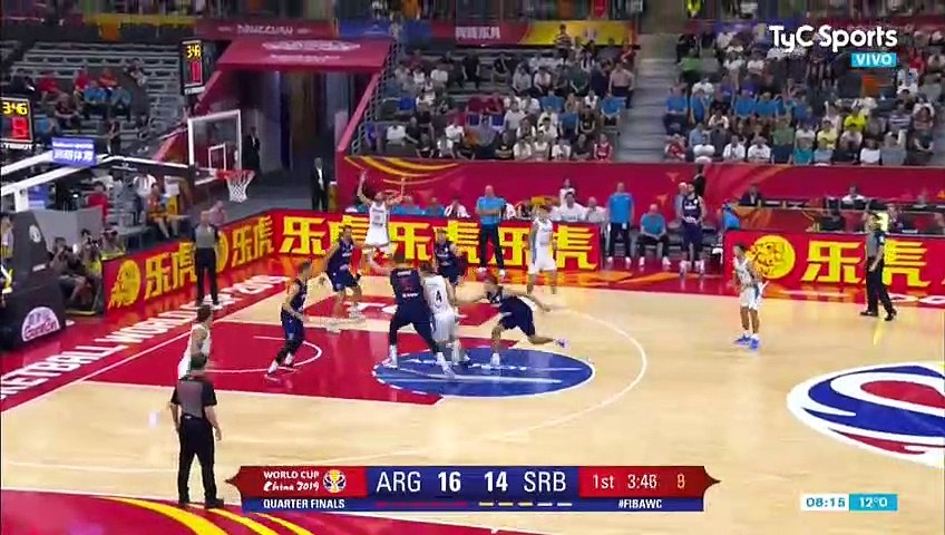Argentina vs. Serbia