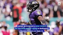 Lamar Jackson and Marquise Brown Make NFL History