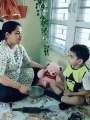 Is this child training child abuse. Its not nearly as bad as what ss do to children