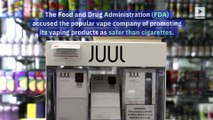 Juul Accused of Illegal Marketing Practices by FDA