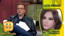 Lucía Méndez recuerda la relación de Camilo Sesto con Lourdes Ornelas, mamá de su hijo.| Ventaneando