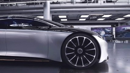 COOL HUNTING Exclusive: Behind-the-Scenes With the Mercedes-Benz Vision EQS Concept Car