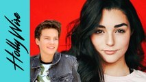 "Indiana Massara Says Hayden Summerall Is The Biggest FLIRT On The ""Chicken Girls"" Set!!"
