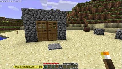 The Minecraft Files - #61- Double Doors and Locking Door (HD)