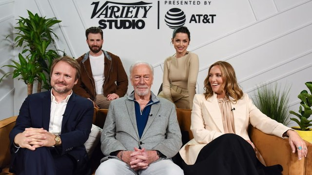 'Knives Out' Cast on Who Killed Christopher Plummer