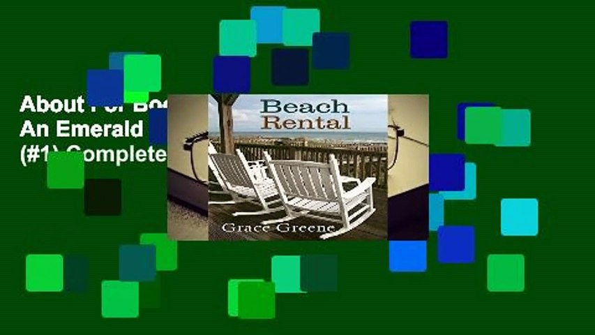About For Books  Beach Rental: An Emerald Isle, NC Novel (#1) Complete