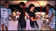 Shah Rukh Khan's CRAZY Lungi Dance With Dwayne Bravo | WATCH