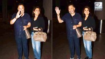 Rishi Kapoor Returns Home After A Year Of Treatment With Wife Neetu Singh