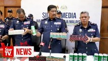 Lorry driver arrested, RM3.66mil worth of cigarettes, beer seized