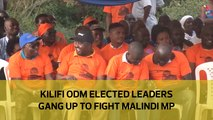 Kilifi ODM elected leaders gang up to fight Malindi MP
