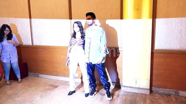 Dream Girl cast Ayushmann and Nushrat Bharucha Promoting Their Movie