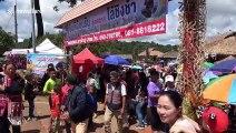 Thai mountain tribes celebrate their freedom with entertaining swing festival