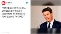 Municipales à Paris. Benjamin Griveaux promet de suspendre tous les travaux pendant six mois s'il est élu