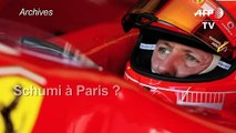 Formule 1: Schumacher hospitalisé à Paris ?