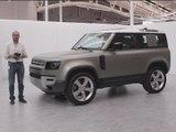 Découverte du Land Rover Defender (2020)