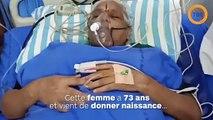 Une femme de 73 ans a donné naissance à des jumeaux en bonne santé !