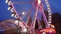 Près de 4.500 amateurs pour l'inauguration de la grande roue au palais de Justice