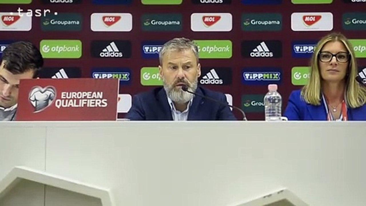 """Futbal-ME-kval.: Slováci vyhrali v Maďarsku 2:1, Hapal: """"Vynikajúci zápas"""""""