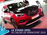 Le stand Opel en direct du salon de Francfort 2019