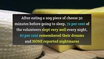 Does cheese give you bad dreams?