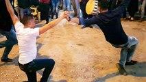 الرقص يحول حفل زفاف في لبنان إلى مشاجرة عنيفة