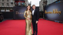 Allen Leech stuns with baby reveal at 'Downton Abbey' Premiere