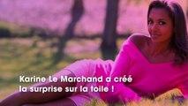 Karine Le Marchand se dévoile en blonde