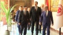 - TBMM Başkanı Mustafa Şentop, Sayıştay Başkanı Ahmet Baş'ı kabul etti