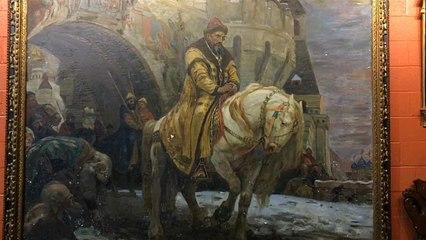 """Un """"Ivan il Terribile"""" trafugato dai nazisti torna in Ucraina"""
