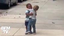 Cette vidéo de retrouvailles entre deux enfants émeut les internautes