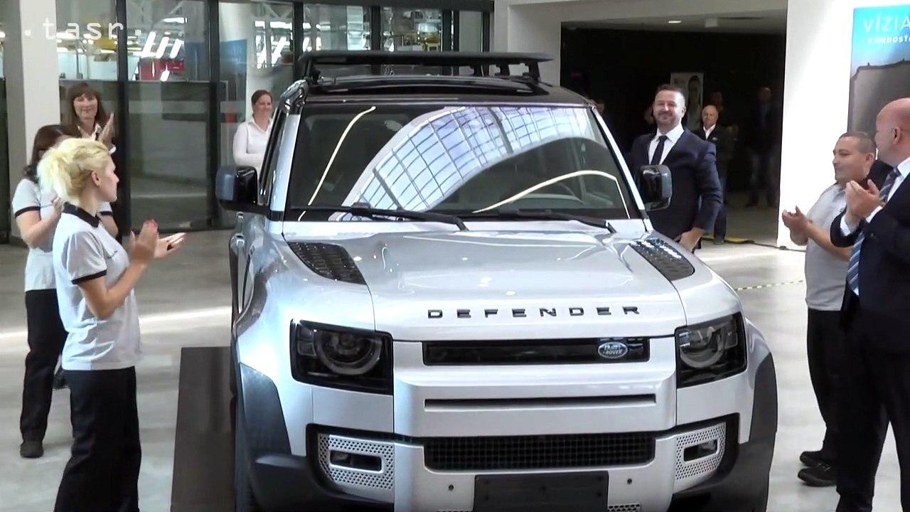 NITRA: Slovenská premiéra modelu Land Rover Defender