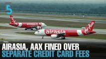 EVENING 5: MAVCOM fines AirAsia, AAX, MAHB