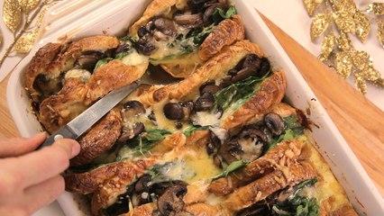 Croissant Breakfast Bake